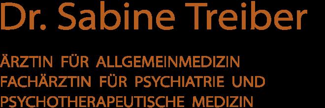 Dr. Sabine Treiber - zurück zur Homepage